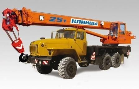 Автокран КС-55713-3К-3 «Клинцы»