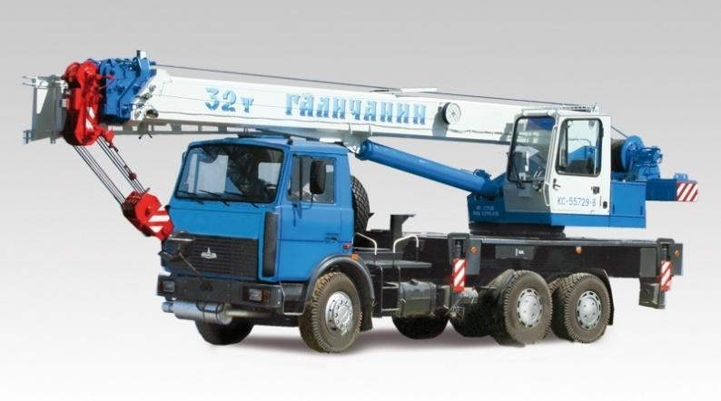 Автокран КС-55729B Галичанин