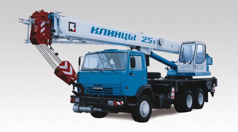 Автокран КС-55713-1К-2 «Клинцы»