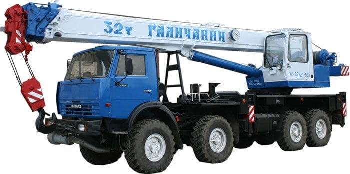 Автокран КС-55729-5B Галичанин