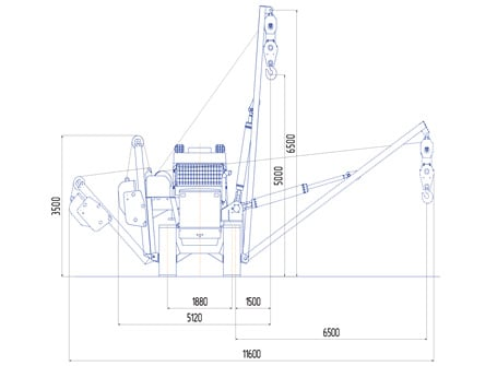 Трубоукладчик ТБГ 16