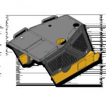 Панель облицовки для Бульдозера Б10